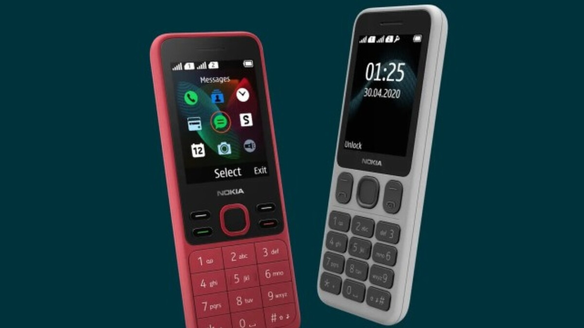HMD Global introduces the Nokia 125 and Nokia 150 feature phones