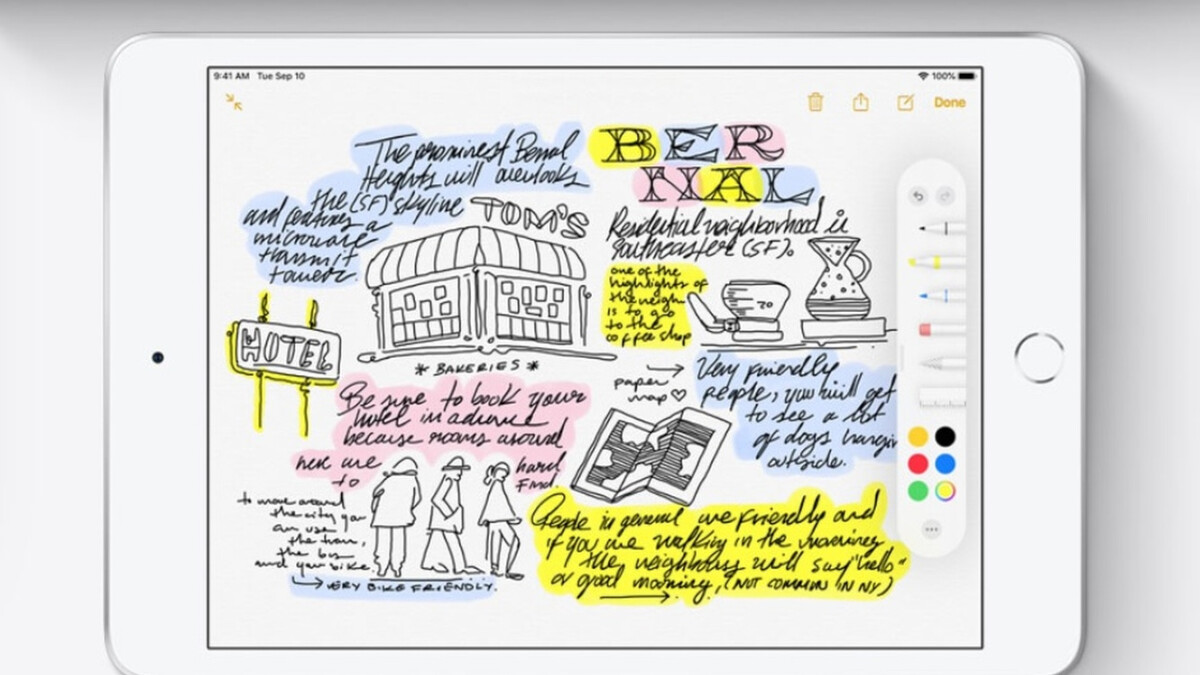 Best note-taking apps for iPad and Apple Pencil