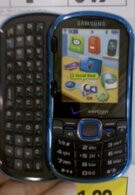 Samsung Intensity II for Verizon is coming out soon & for real cheap too