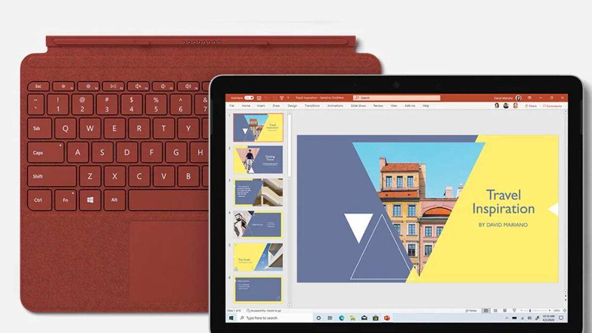 Microsoft's hot new Surface Go 2 tablet is already discounted in an 'Essentials Bundle'