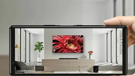 Sony lures you into buying a TV with a new AR app