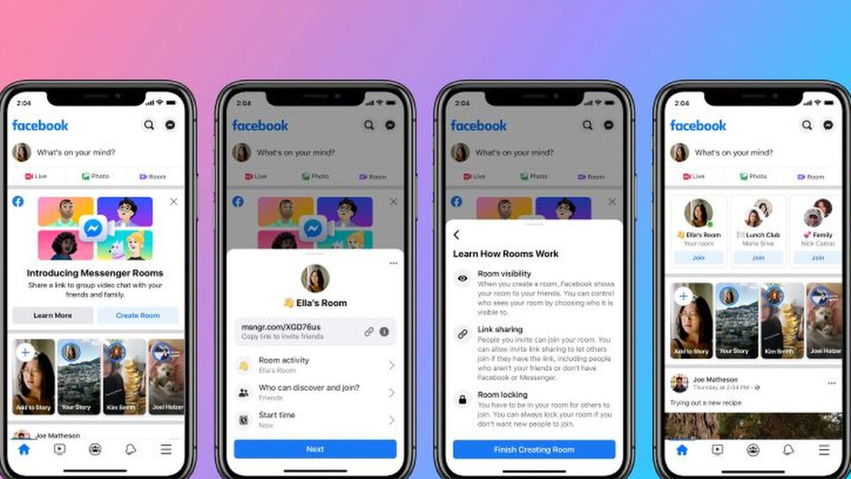 Facebook launches Messenger Rooms globally amid video calling app boom