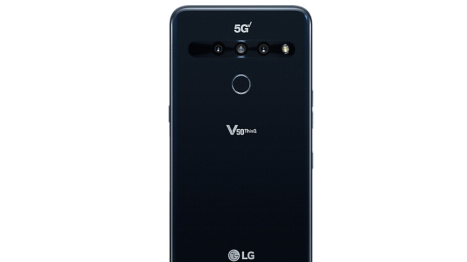 Another US carrier rolls out the LG V50 ThinQ Android 10 update