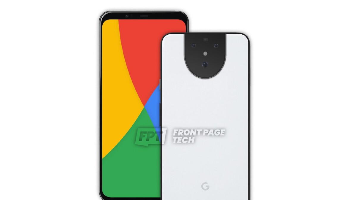 Google Pixel 5 G Teaser