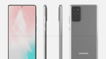 Samsung Galaxy Note 20 renders suggest new S-Pen placement