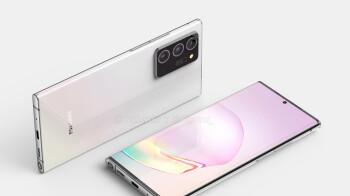 Leaked Samsung Galaxy Note 20+ 5G renders reveal sleek design, updated camera bump