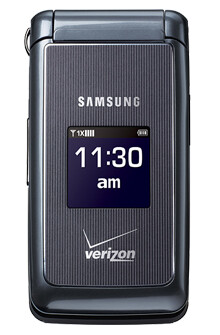 The Samsung Haven is a no-frills flip-phone for Verizon