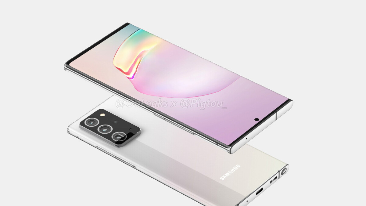 The Samsung Galaxy Note 20/+ 5G could arrive in these colors