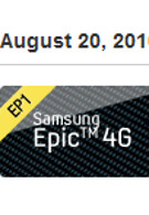 Sprint to launch 4G handset number two on August 20th with the Epic 4G?
