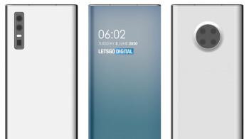Huawei patents show futuristic under-screen camera smartphones