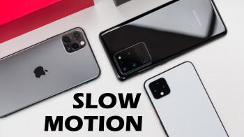 iPhone 11 Pro vs Pixel 4 XL vs Galaxy S20 Ultra: slow-motion video comparison