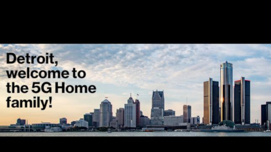 Verizon brings its 5G Home Internet service to the sixth US city