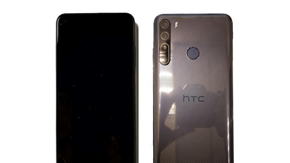 HTC Desire 20 Pro leaked photo reveals disappointingly dull design