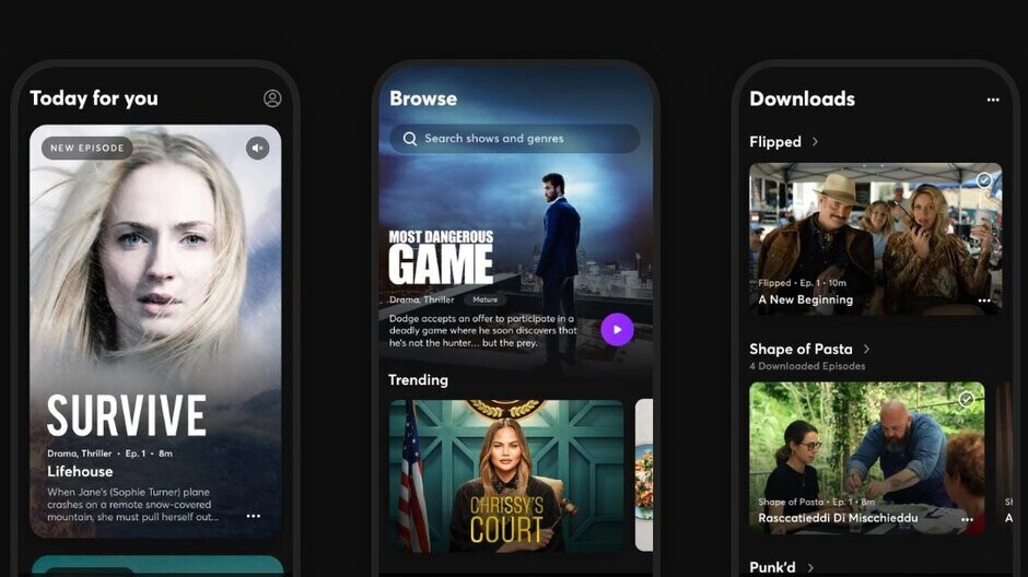 Quibi for iPhone and iPad gets Chromecast support, free trial now 2 weeks