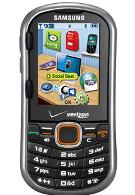 Verizon now offering Samsung Intensity II