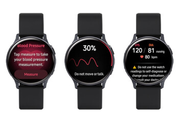 Samsung Galaxy Watch Active2 gets new Health Monitor app with blood pressure measurement