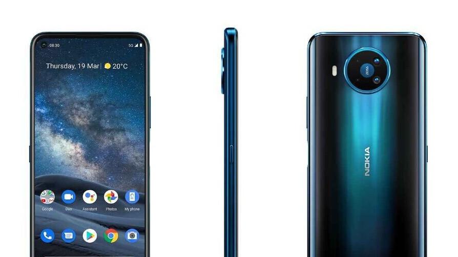 Nokia 8.3 5G appears on Amazon