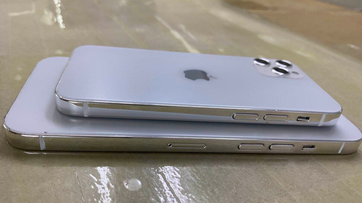 Dummy units reveal the three different 5G Apple iPhone 12 screen sizes