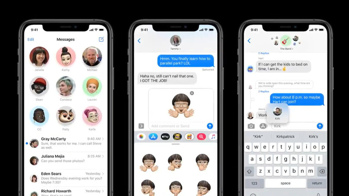 Messages in iOS 14 gets mentions in group chats, pinned ...