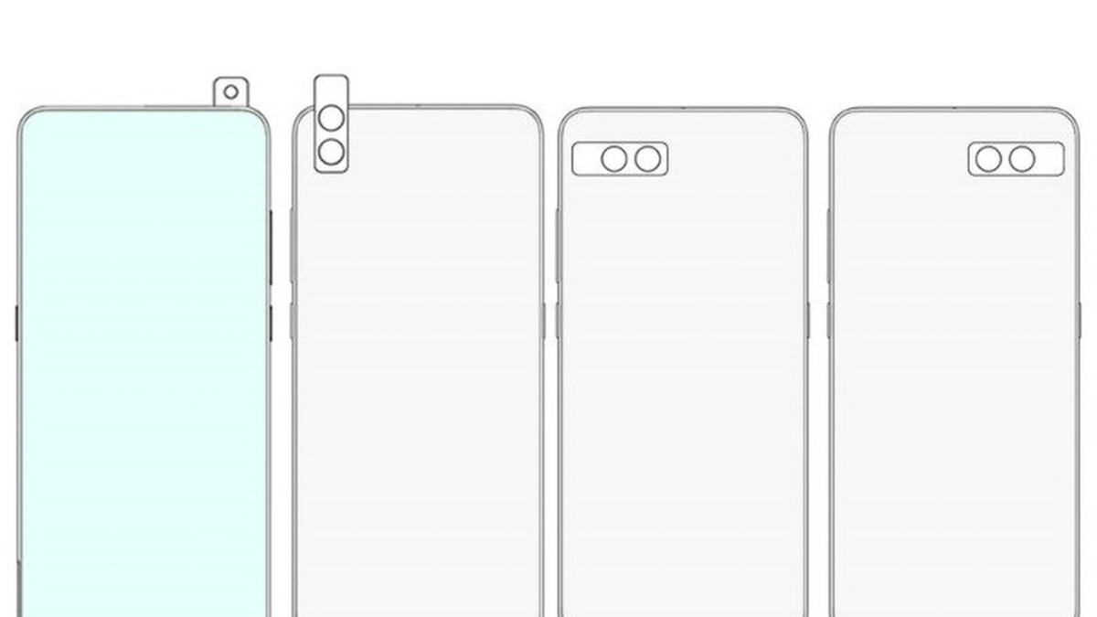 Xiaomi was looking into a wild rotating phone camera design