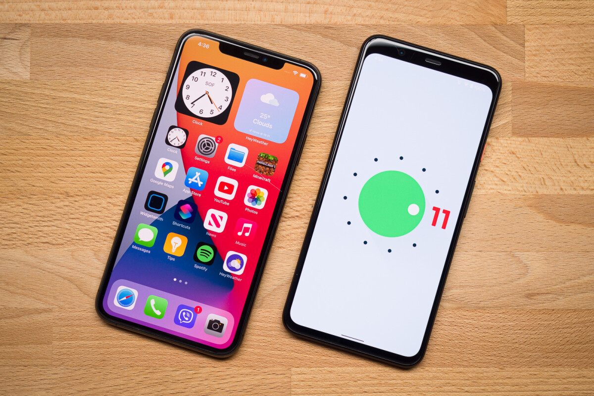 Ios 14 Vs Android 11 2020 S Software Darlings Phonearena