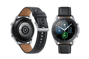 High-quality renders do the Samsung Galaxy Watch 3 justice
