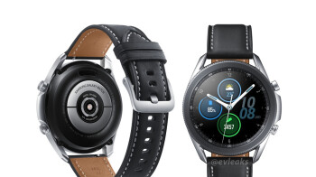 Leaked high-quality renders do the beautiful Samsung Galaxy Watch 3 justice
