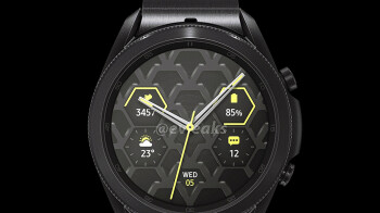 Titanium Galaxy Watch 3 catwalks to tease the Unpacked 2020 date