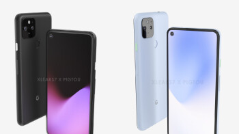 This could be what the 5G Google Pixel 5 series looks like