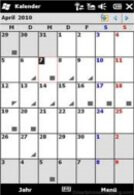 Second calendar hotfix for the HTC HD2 appears