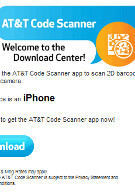 AT&T releases barcode reader and code producer apps for smartphones