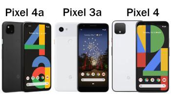 Google Pixel 4a vs Pixel 3a vs Pixel 4: design and specs comparison