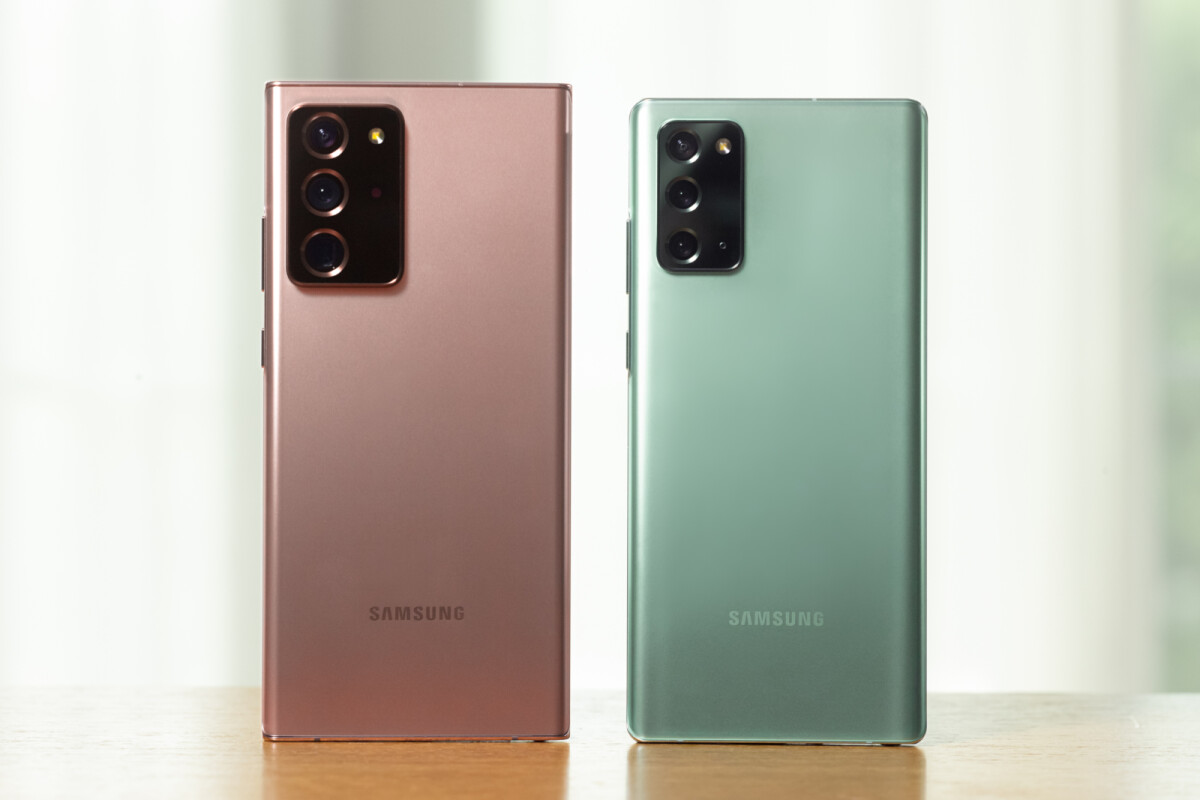 The Galaxy Note 20 5G and Galaxy Note 20 Ultra 5G are official