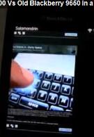 BlackBerry Browser Battle:  Torch 9800 vs. Bold 9650