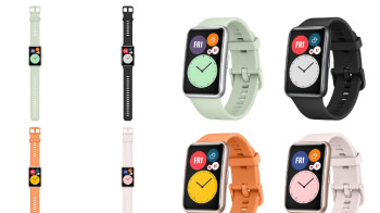 The next Huawei wearable looks like a stretched Apple Watch
