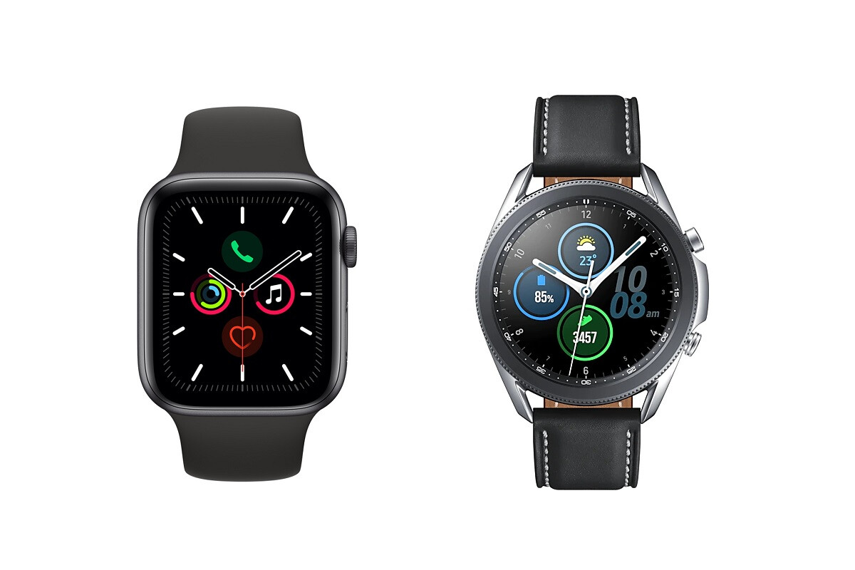 Apple Watch Series 5 vs Samsung Galaxy Watch 3 - PhoneArena
