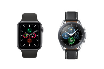Apple Watch Series 5 vs Samsung Galaxy Watch 3