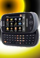 Samsung Flight II SCH-A927 for AT&T opts to go with a landscape QWERTY