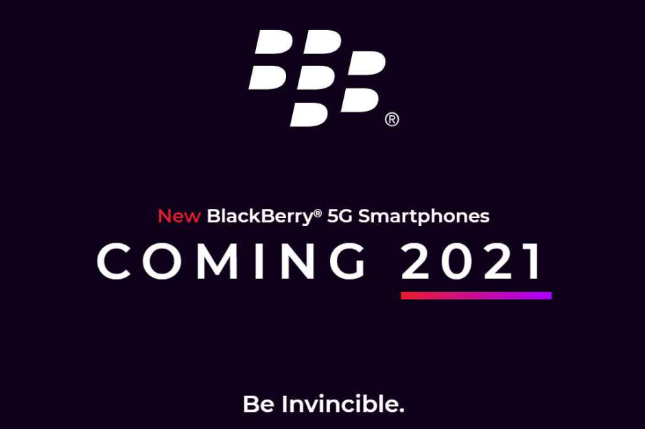 BlackBerry is back! 5G phone with keyboard coming in 2021