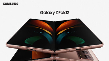 Leaked Galaxy Z Fold 2 5G ad shows the device in action