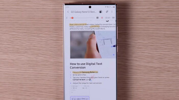 How to add Audio Bookmarks in the new Samsung Notes 2020 app on the Galaxy Note 20 5G