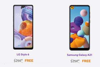Deal: LG Stylo 6 and Samsung Galaxy A21 are free at Metro by T-Mobile (when you switch)