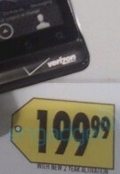 Best Buy prices DROID 2 at the $199 Gold Standard contract price for high-end phones