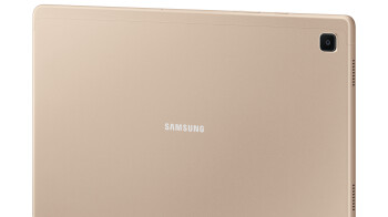 Samsung Galaxy Tab A7 — quad speakers, modern look, affordable price