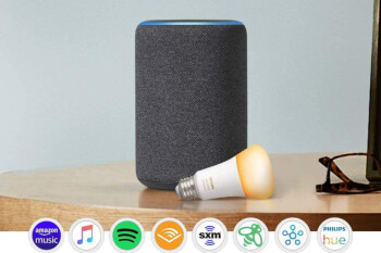Amazon Echo Plus is half off, comes with free Philips Hue bulb in tow