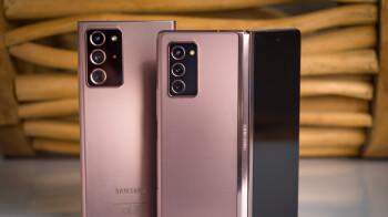 Note 20 Ultra VS Galaxy Z Fold 2 camera comparison