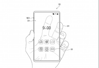 Samsung patents transparent smartphone design