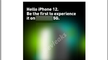 Leaked iPhone 12 5G promo email hints at late October launch