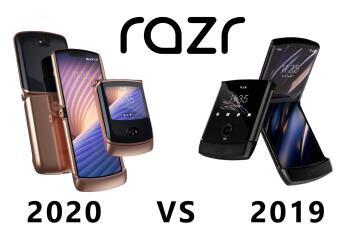 Motorola razr 5G 2020 vs razr 2019: all the major differences