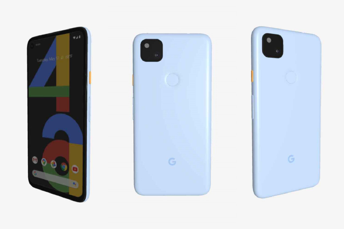 Here's the canceled Barely Blue Google Pixel 4a model - PhoneArena